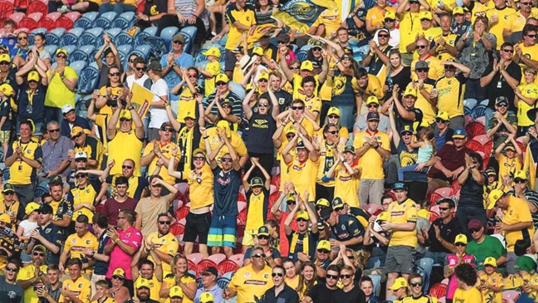 The Central Coast Mariners Are Home This Week!