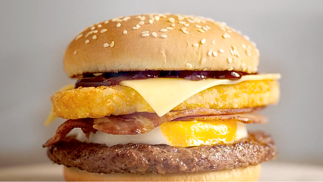 "McDonald's New ""Big Brekkie Burger"" Is What Breakfast Dreams Are Made Of"