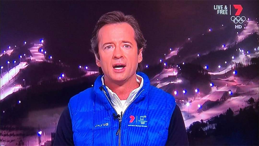 Hamish McLachlan Just Dropped The C-Bomb On The Winter Olympics Coverage
