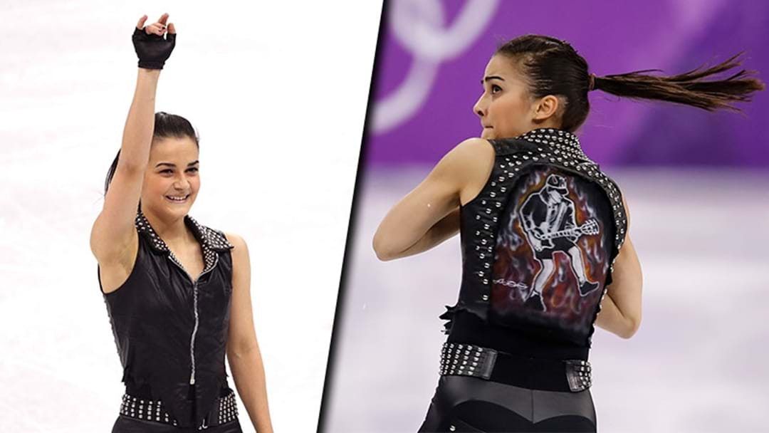 A Hungarian Ice Skater Performed To An AC/DC Song At The Winter Olympics