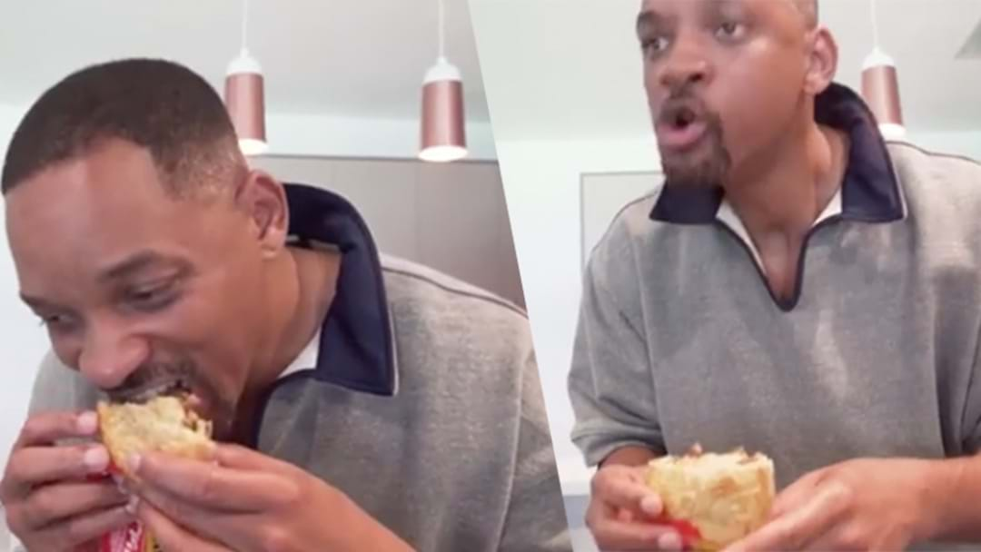 Will Smith Ate His First Aussie Meat Pie And Burnt The Shit Out Of His Mouth