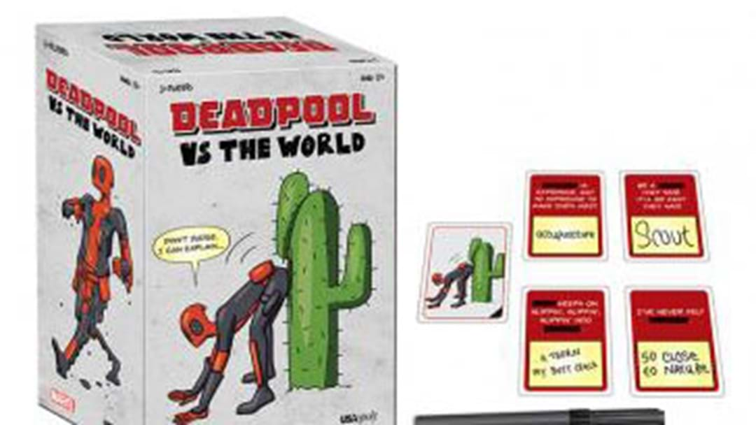 Now Deadpool Is Getting The Cards Against Humanity Treatment