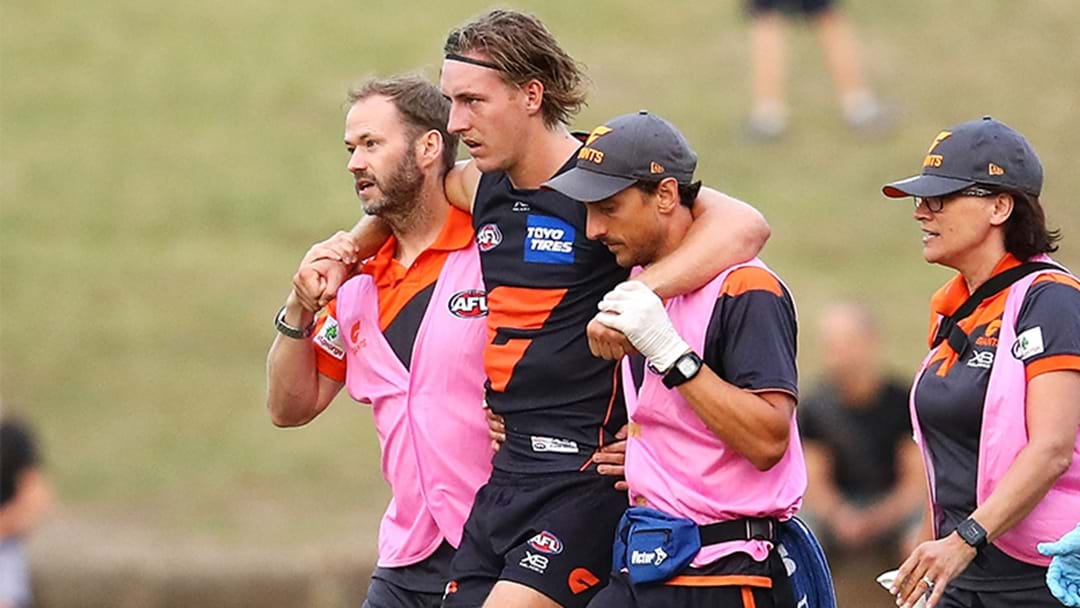 Suspected ACL Tear For GWS Top Pick Will Setterfield