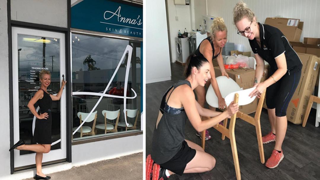 Townsville Beauty Salon Opens New Doors 4 Weeks After Fire