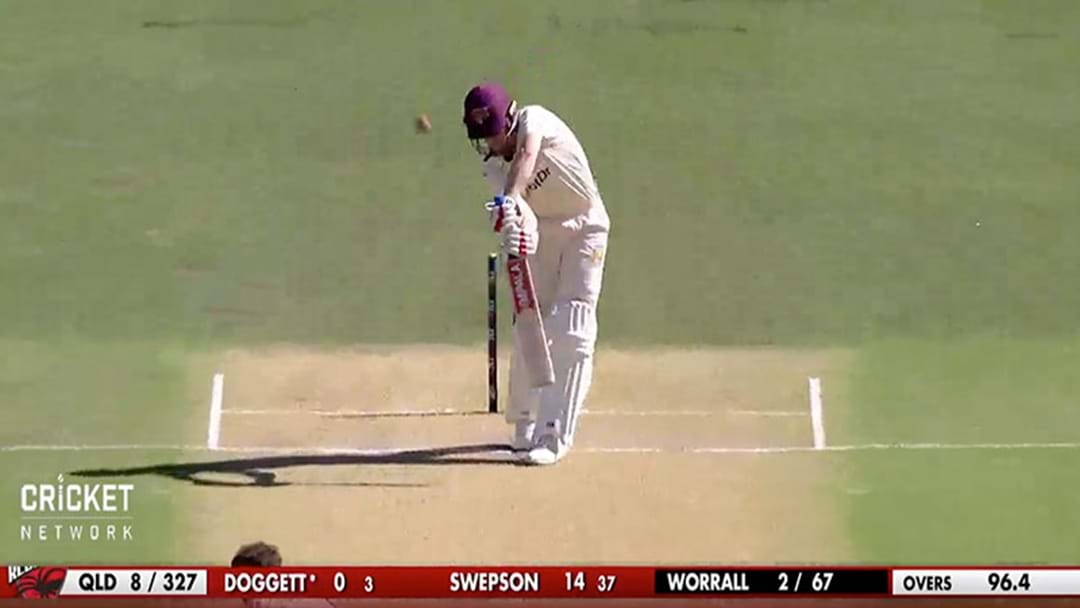 Blokes Are Getting A Heap Of Movement With The Dukes Ball In The Sheffield Shield