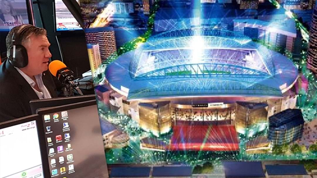 Eddie McGuire On The Etihad Stadium Revamp