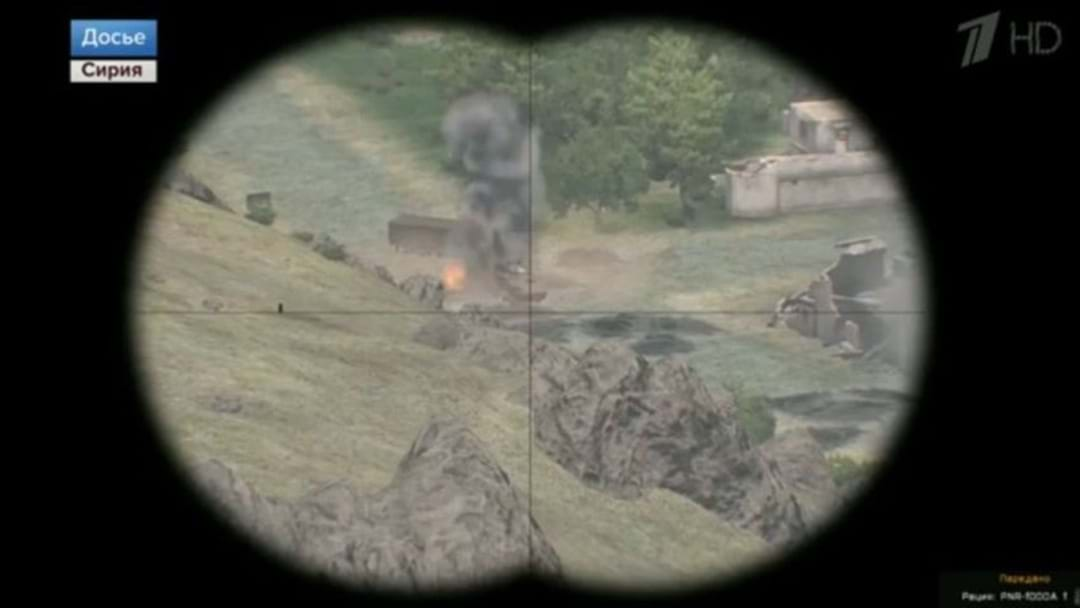 Russian News Accidentally Airs Footage From Video Game In Tribute To War Vets
