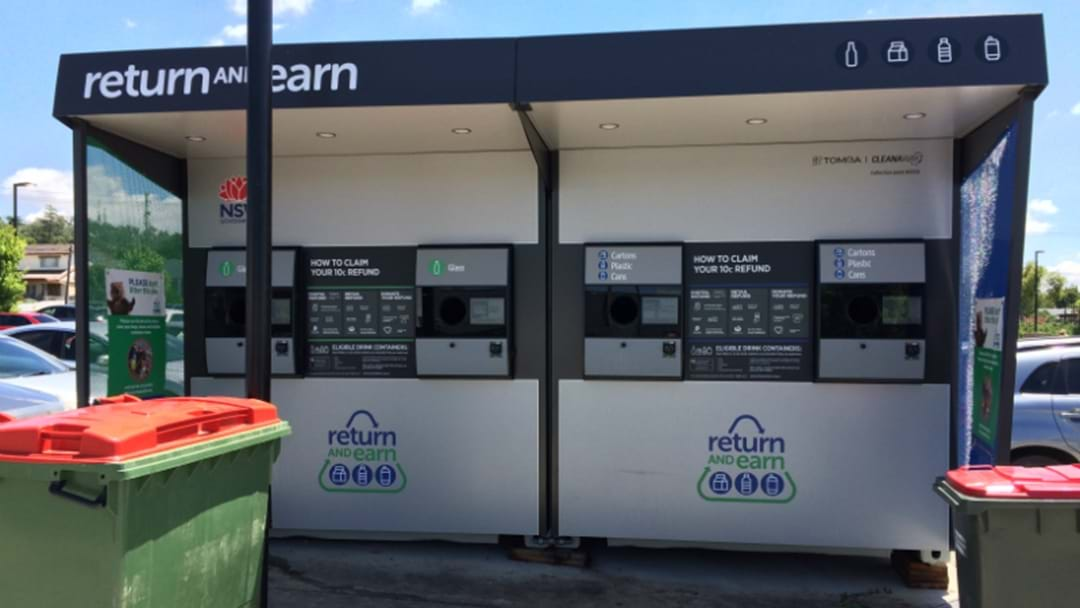 Maitland Finally Gets A Reverse Vending Machine