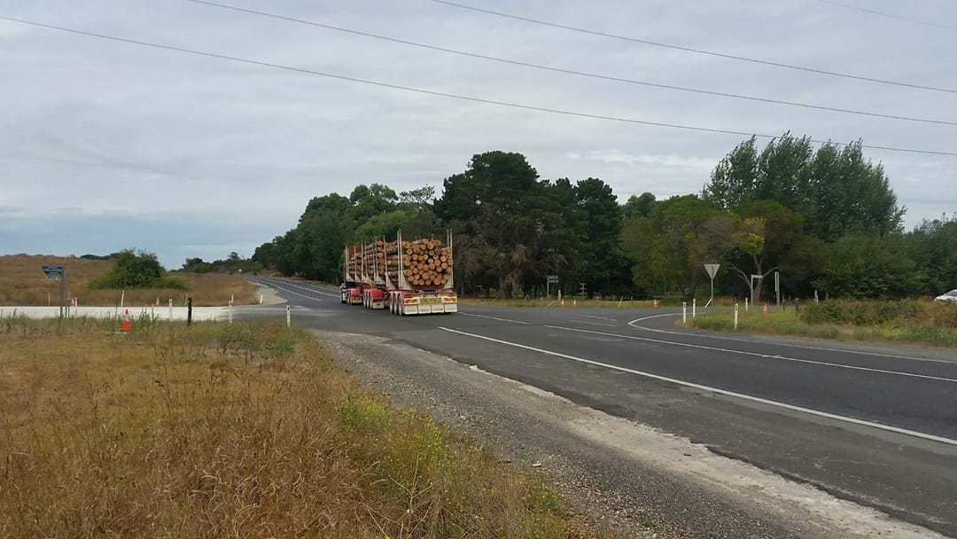 Intersection of Riddoch Highway and Wandilo Forest Road Upgrade