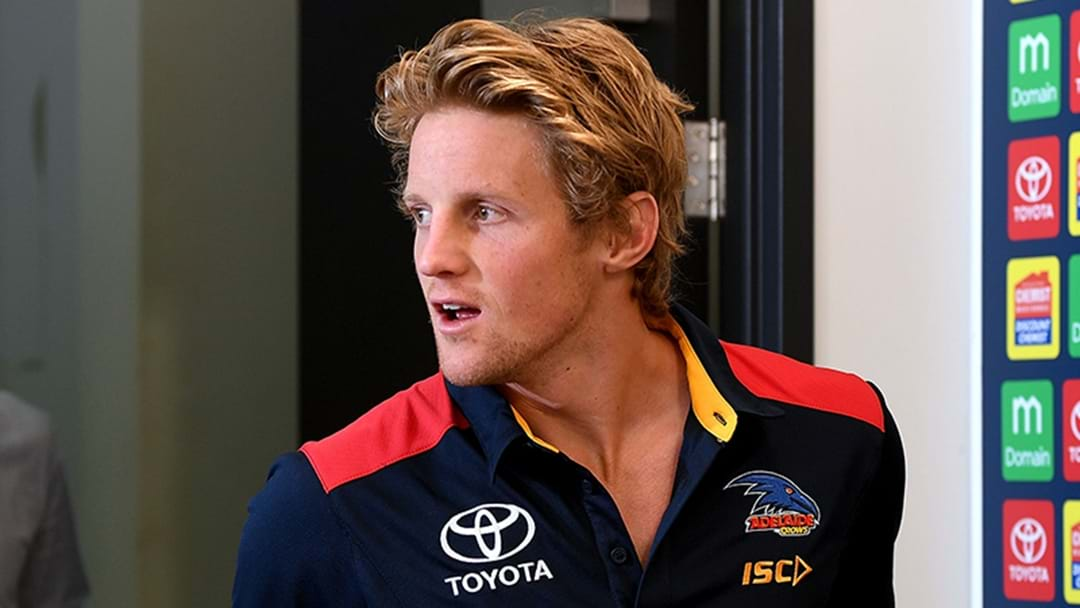 Rory Sloane Gives An Update On His Foot Injury