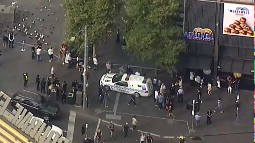 Major Police Operation At Crown Casino
