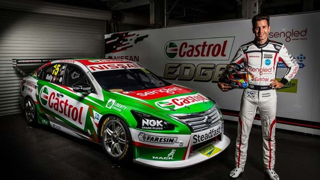 Rick Kelly Unveils Green Machine On Eve Of Adelaide 500