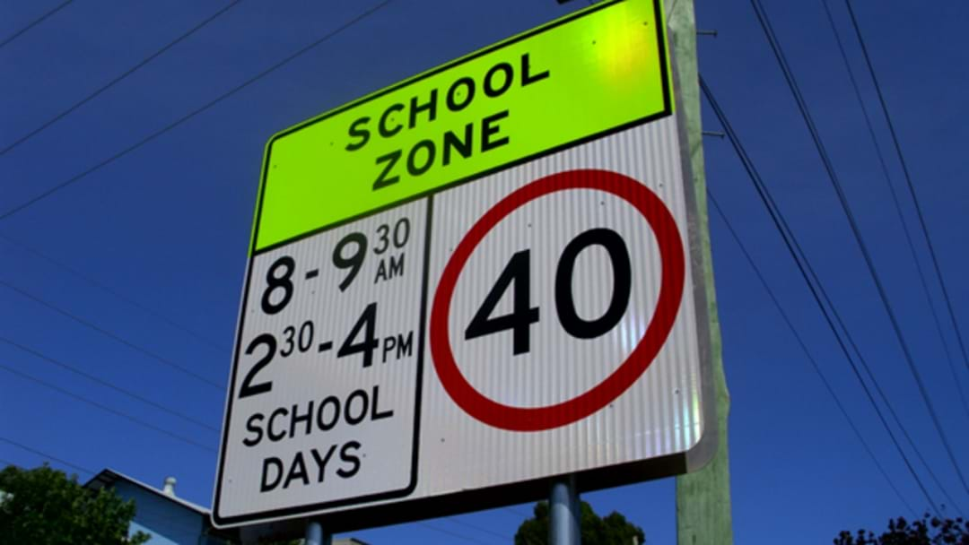 School Zones Are In Operation Today