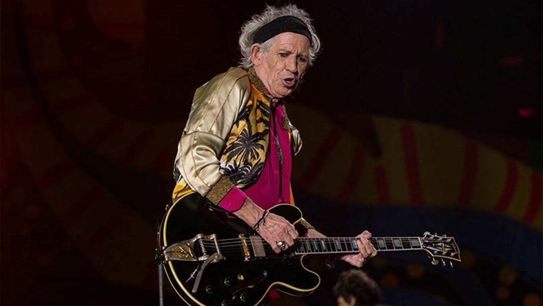 WATCH | Keith Richards, Rolling Stones