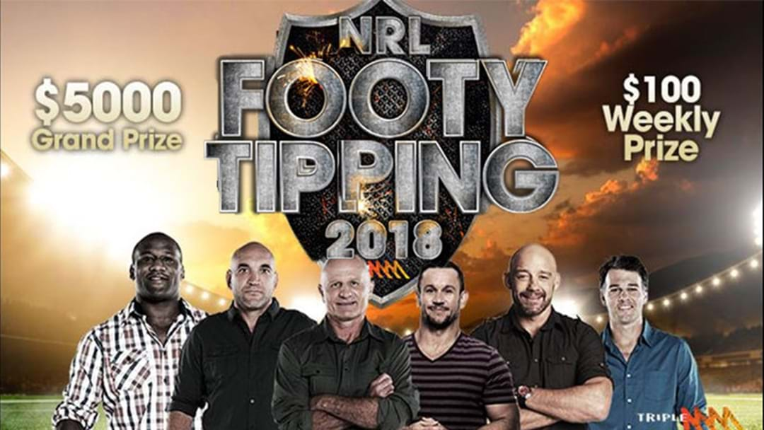 WIN $5000 With Triple M's Footy Tipping 2018