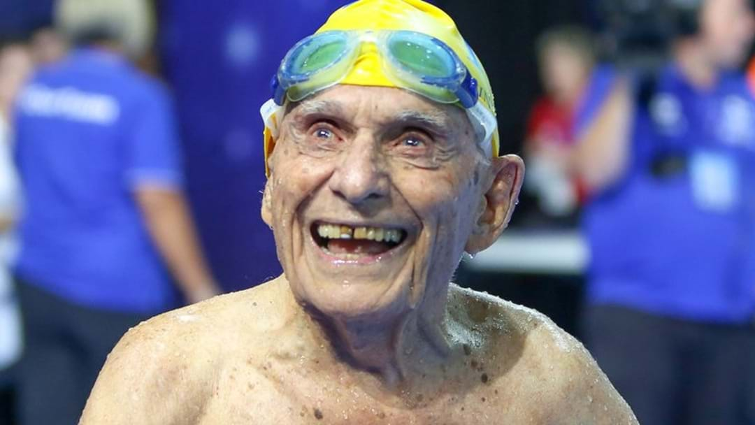 99-Year-Old Aussie Smashes World Record At Commonwealth Games Trial