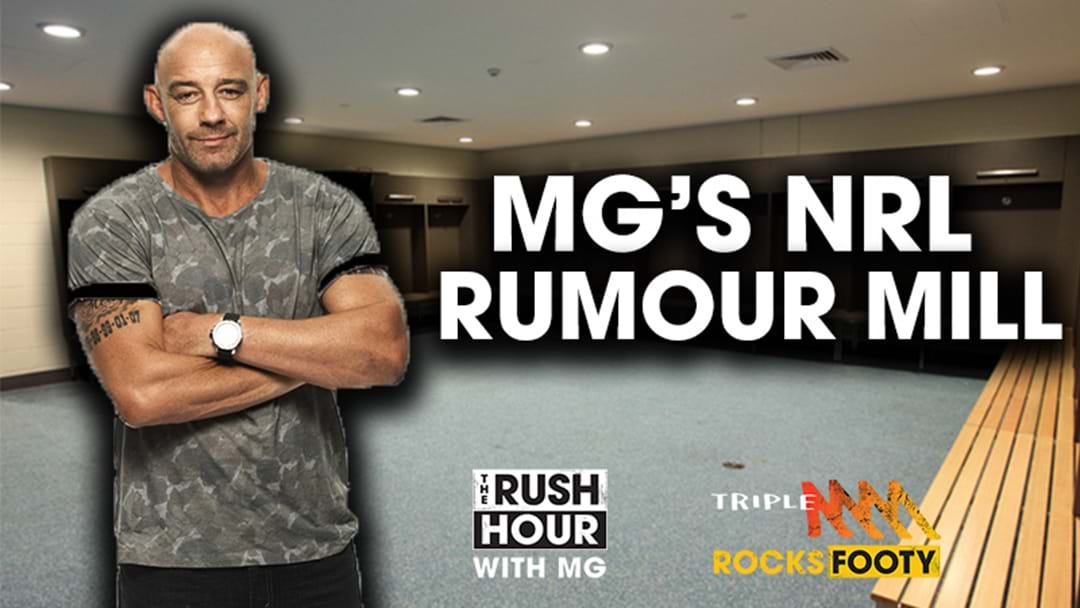 MG's NRL Rumour Mill: Robbie Farah To The Raiders? Sam Burgess To Miss Round 1? Todd Carney To Manly?