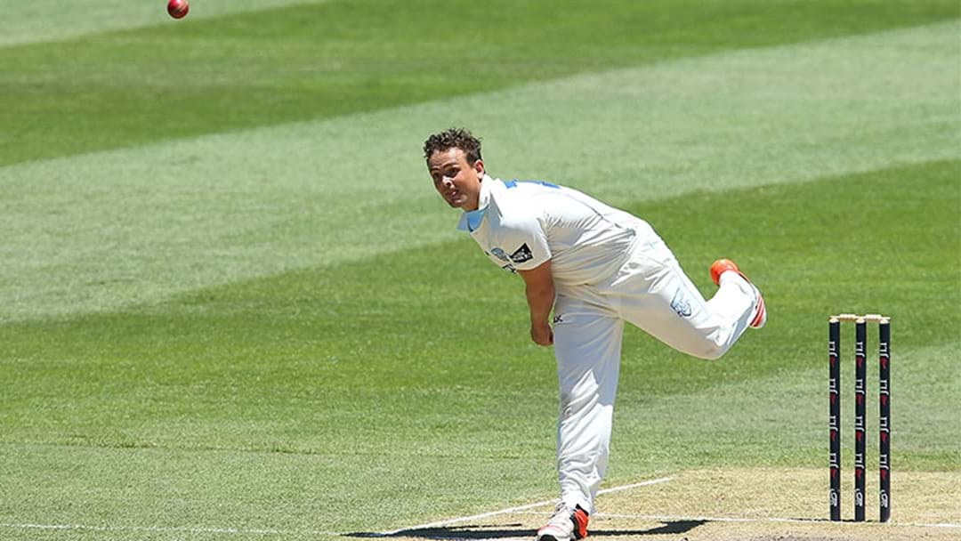 Steve O'Keefe Absolutely Wrecked Victoria In The Sheffield Shield Today