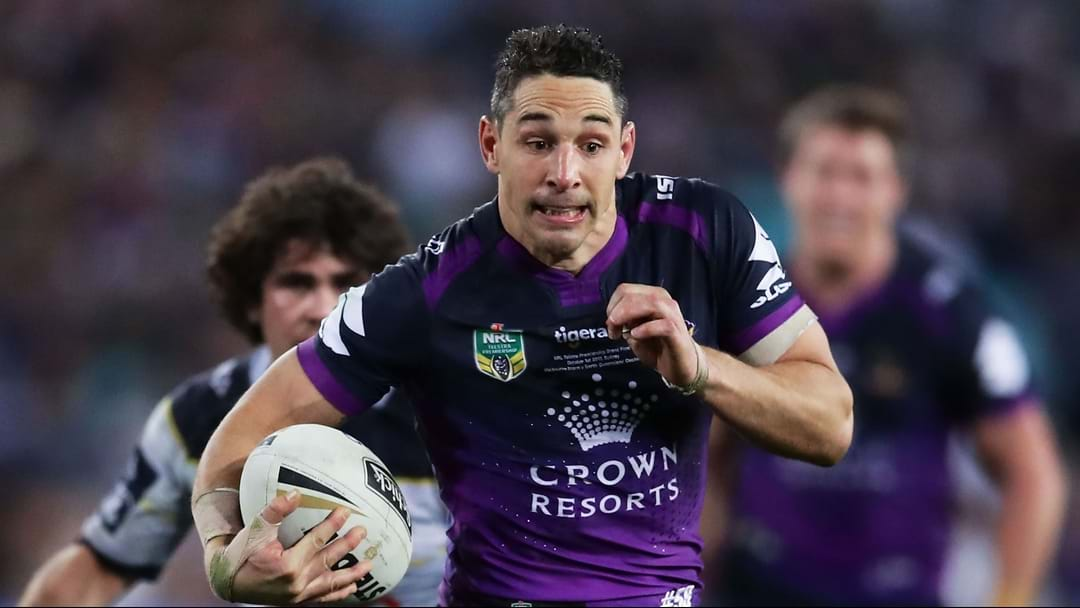 Melbourne Storm Confirm Billy Slater To Sit Out Round 1