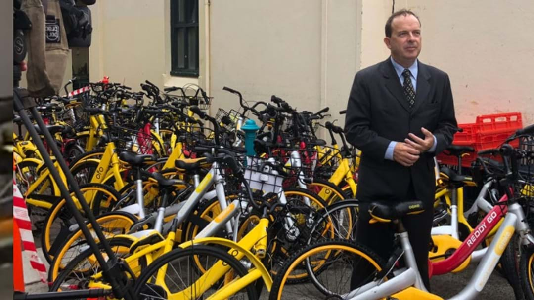 Council Impounds Over 40 Share Bikes Found Across Sydney