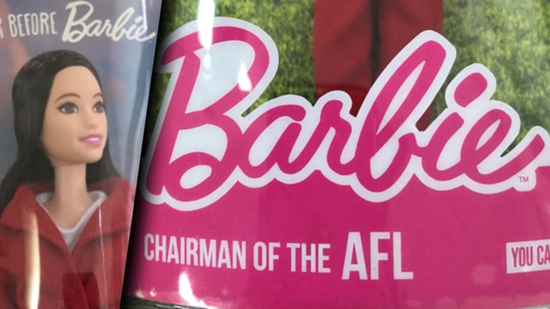 Mattel Has Created A Chairman Of The AFL Barbie