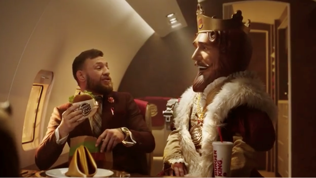 Conor McGregor Stars In The New Burger King Ad And It's Predictably Insane