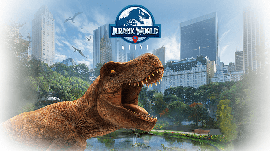 Landing This Spring, Jurassic World Alive Combines AR and Dinosaurs
