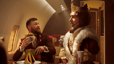 Conor McGregor Stars In The New Burger King Ad