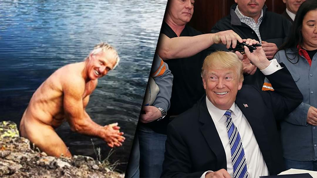Australia Brought In Greg Norman To Negotiate With Donald Trump — And It Worked