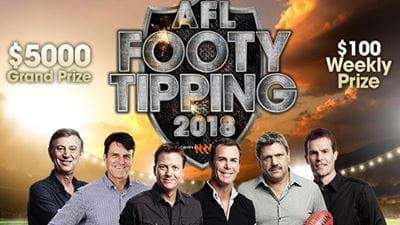 Get Around Triple M's 2018 Footy Tipping!