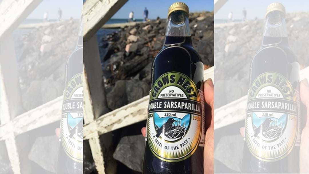 Move Over The Big Pineapple – Make Way for the Big Sarsaparilla!