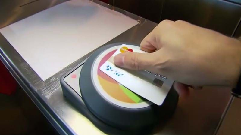Sydney commuters 'tap' with credit cards