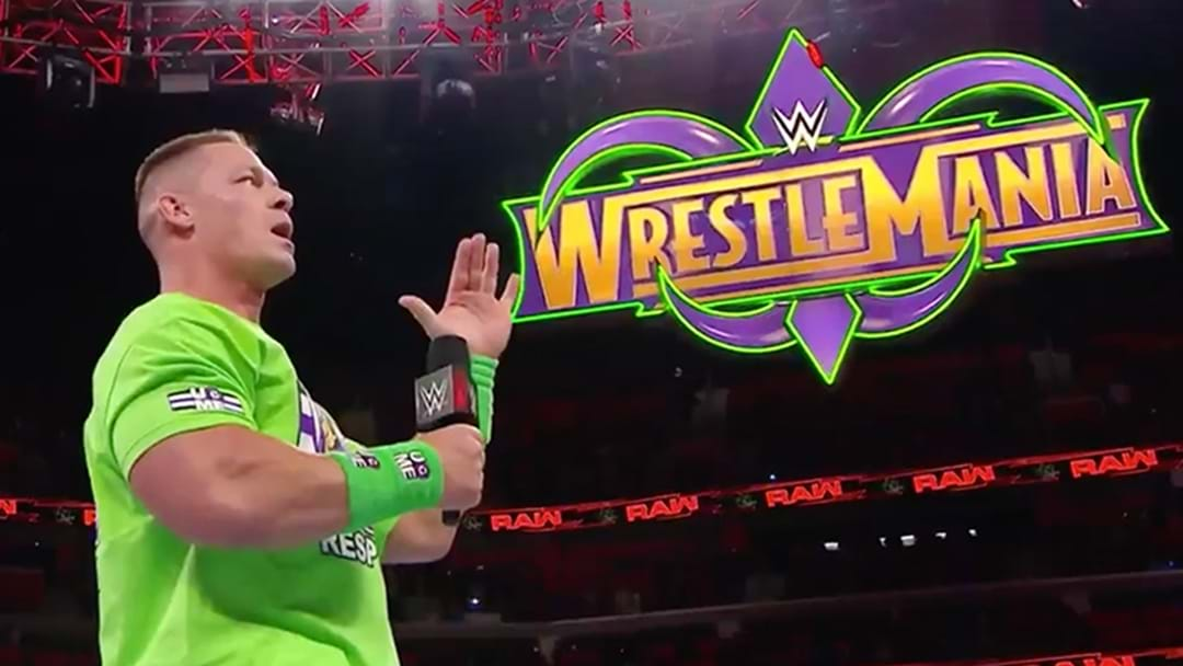 John Cena Has Challenged The Undertaker To A Match At Wrestlemania