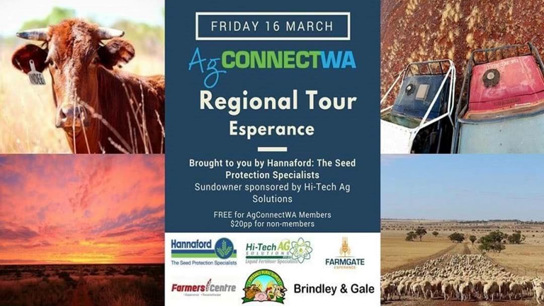 Ag CONNECTWA Regional Tour