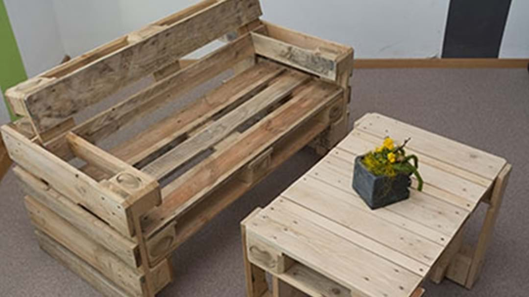 Upcycle Wooden Pallets:  To be Auctioned Off to Help Our Sick Little Ones