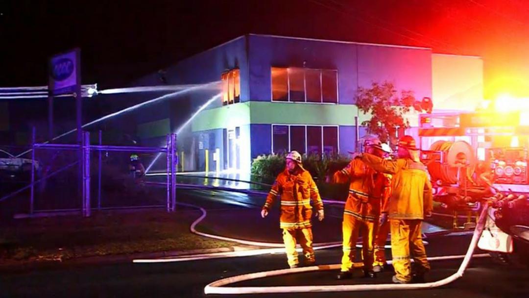 Woolgoolga Building Fire Treated as Suspicious