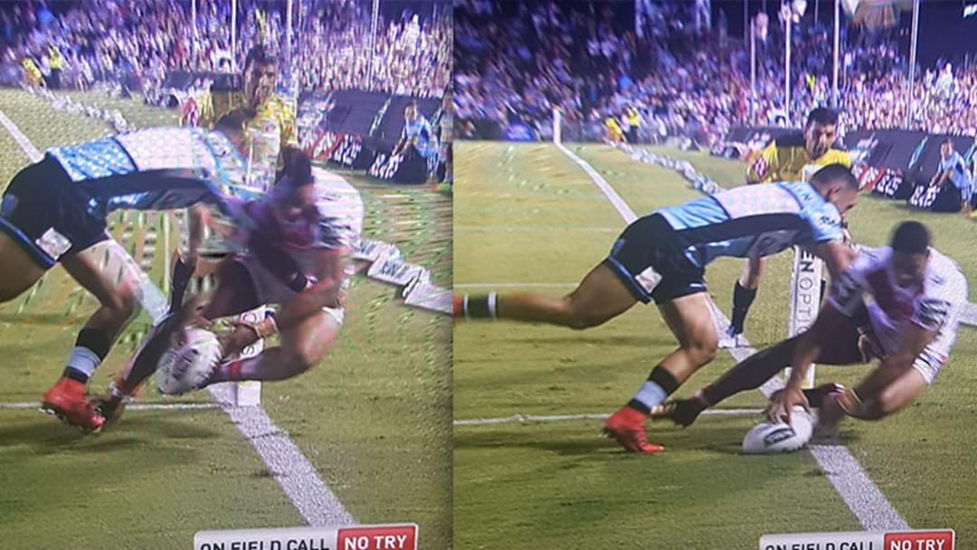 Nene Macdonald Just Scored The Try Of The Season Already In Round 2