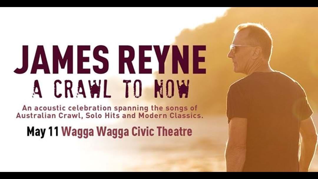 James Reyne Wagga Tour