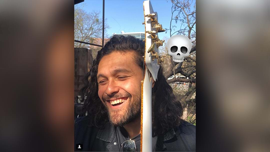 Gang Of Youths Frontman Dave Le'aupepe Had His Guitar Smashed By A US Airline