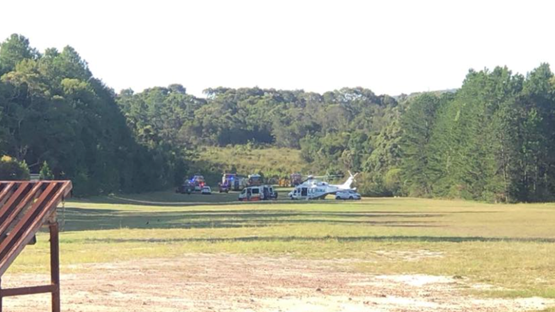 Man Critical After Plane Crash In Somersby