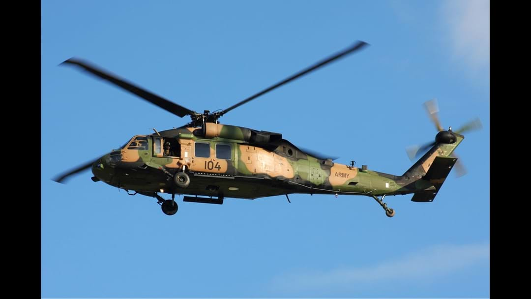 Army Blackhawks To Buzz Commonwealth Games Venues
