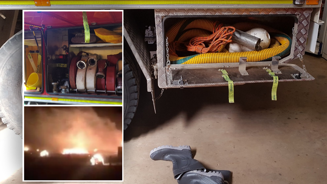 """CFA """"Devastated"""" After Thieves Steal Crucial Firefighting Equipment"""