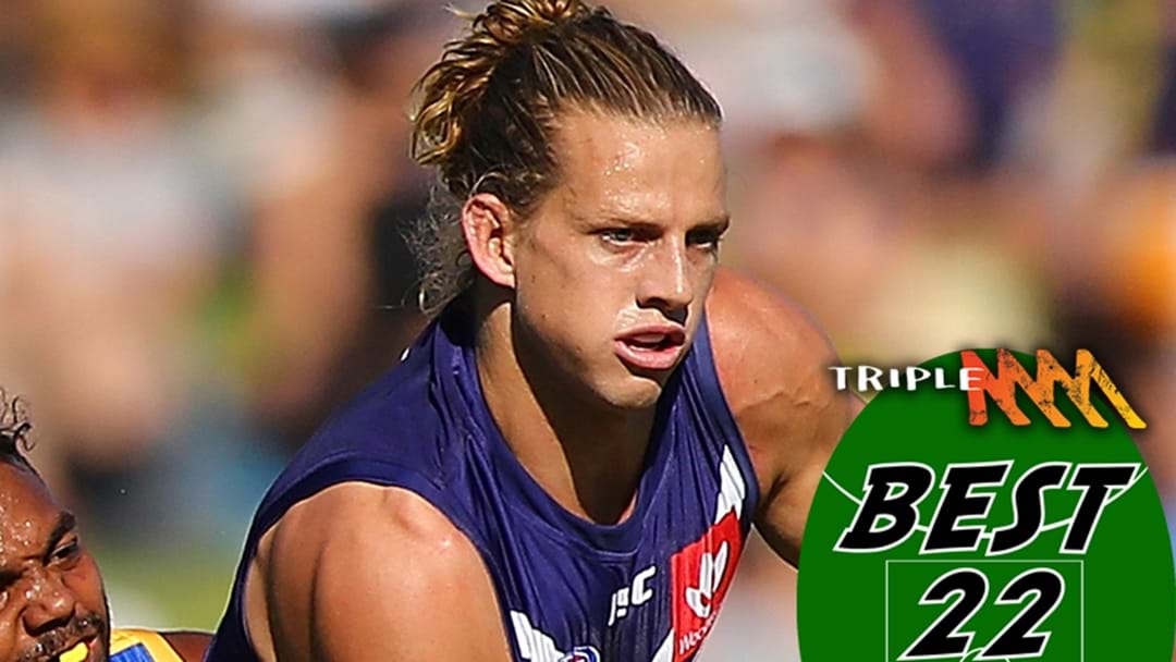 Fremantle's Best 22 For 2018