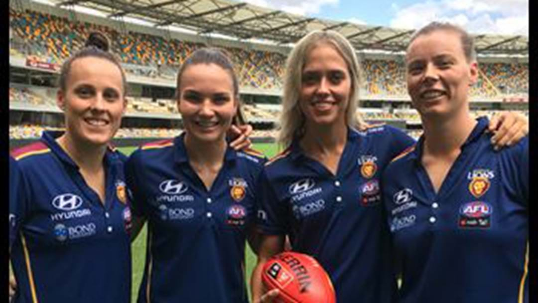 "Brisbane Lions AFLW: ""No-One Rates Us....We Love It Like That"""