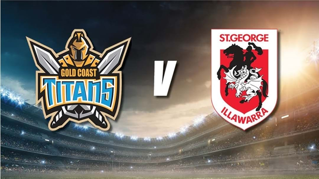 Gold Coast Titans Take on the St.George Illawara Dragons This Weekend!