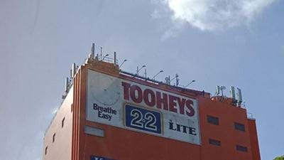 25-Year-Old Tooheys Billboard Revealed In Sydney