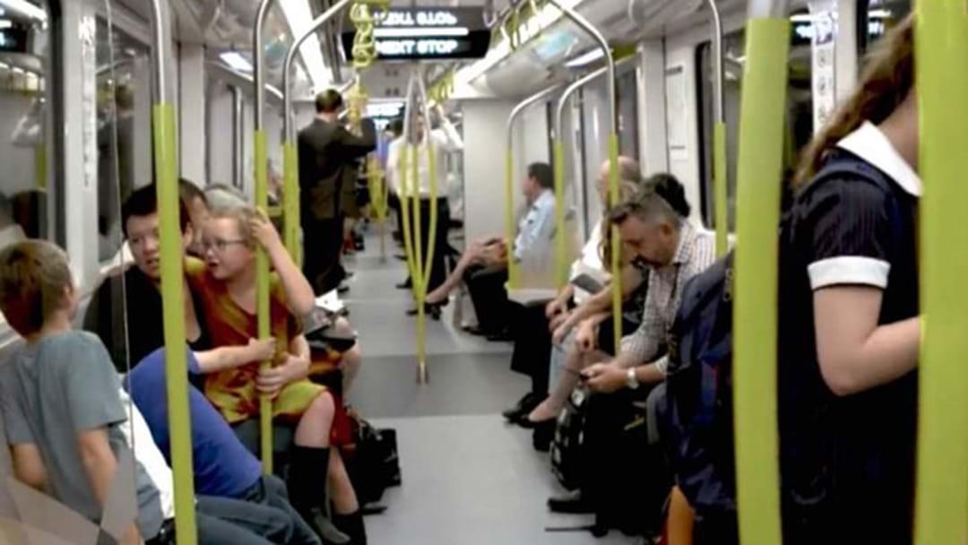 Sydney's New Metro Trains Have Very Few Seats
