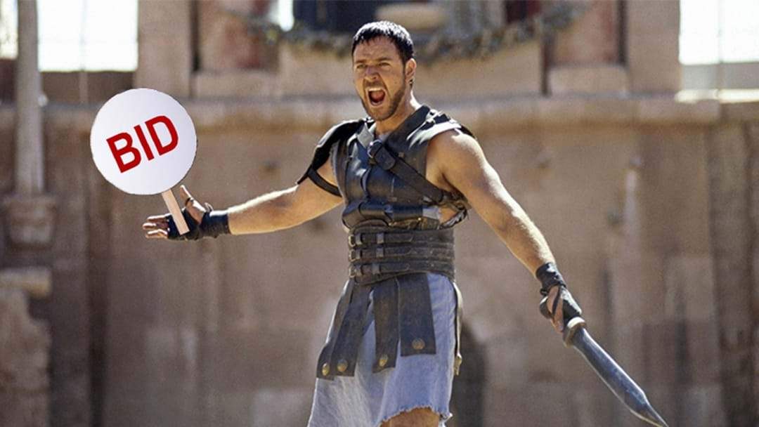 Russell Crowe Is Selling A Heap Of His Movie Props If You're Keen On A Gladiator Chariot