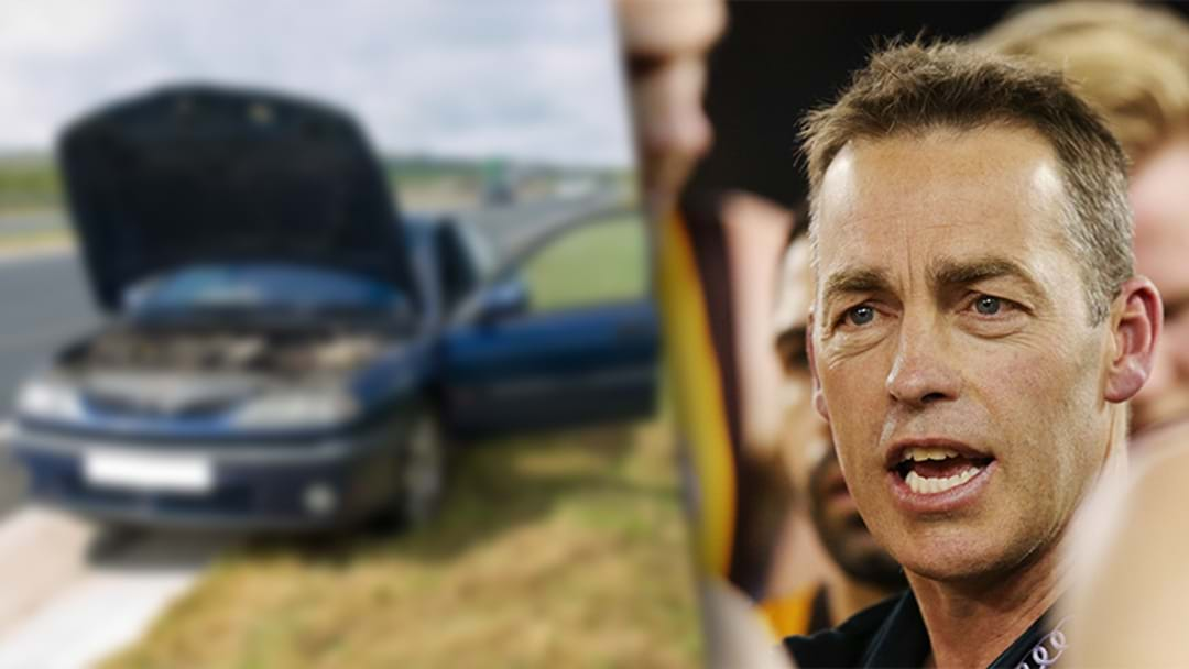 The Hot Breakfast: Alastair Clarkson's Act Of Kindness On Melbourne Highway