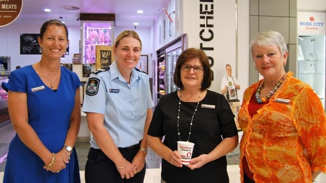 "Southern Downs Says ""NO"" to Domestic Violence"